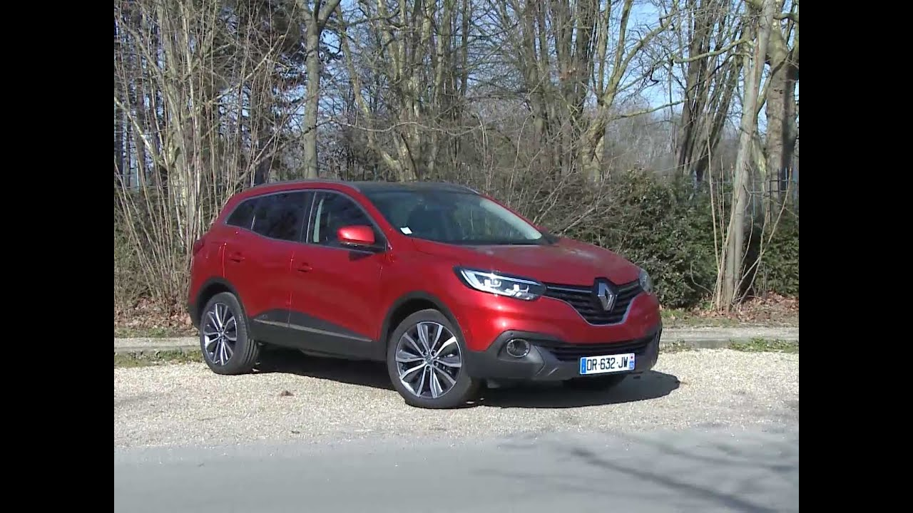 essai renault kadjar 1 5 dci 110 intens 2016 youtube. Black Bedroom Furniture Sets. Home Design Ideas