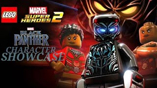 LEGO Marvel Super Heroes 2 Black Panther DLC characters showcase