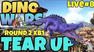 ARK DINO WARS #8 ROUND 2 XB1 LIVE!