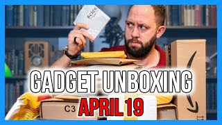 GADGET HAUL UNBOXING - APRIL 2019