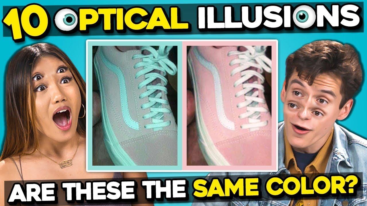 Desafío: solo las personas con una percepción perfecta del color pueden detectar los colores extraños