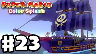 Paper Mario Color Splash Gameplay Walkthrough Part 23! Violet Passa...