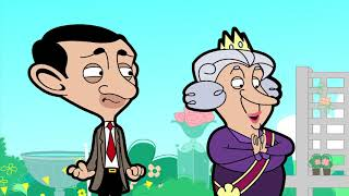 Queen and Bean | Funny Episodes | Mr Bean Cartoon World