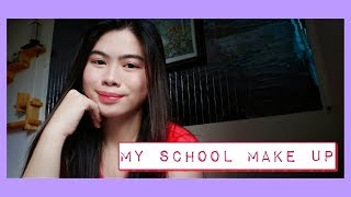 MY SCHOOL MAKE UP ROUTINE | Angel💜