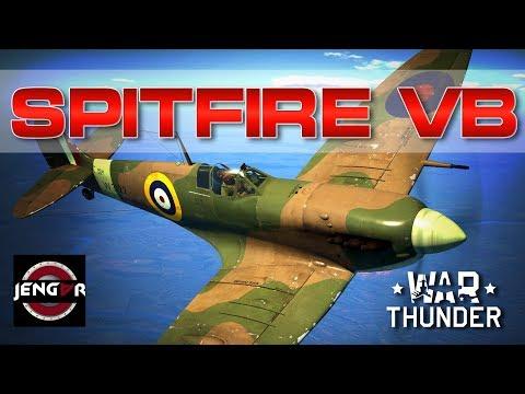 War Thunder Realistic: Spitfire Mk Vb [Merlin Hotness!]