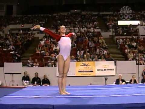 Courtney Kupets - Vault - 2003 U.S. Gymnastics Championships - Women - Day 2
