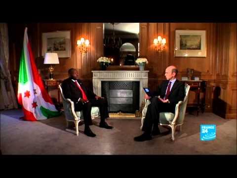 FRANCE 24 L'Entretien - Pierre Nkurunziza, président burundais