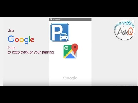 Parking with Google Maps