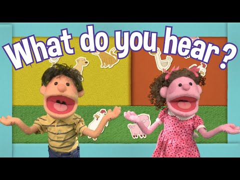 What Do You Hear? | Animal Song | Super Simple Songs