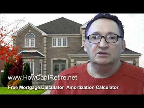 Free Mortgage Calculator Amortization Calculator