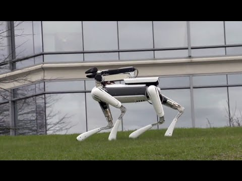Download Youtube: WALKING ROBOT DOG - Spot Mini..! Amazing Build!