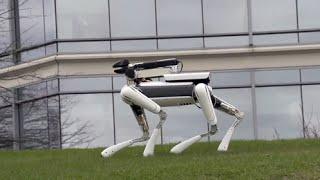 connectYoutube - WALKING ROBOT DOG - Spot Mini..! Amazing Build!