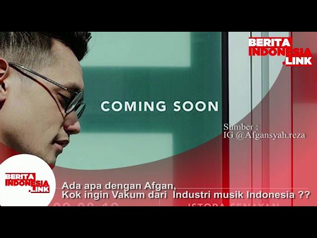 Ada apa dengan Afgan?. Kok ingin vakum dari Industri musik Indonesia.