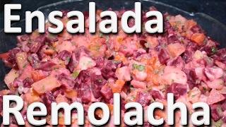 Ensalada de Remolacha y Zanahoria – Ensalada Casera Colombiana