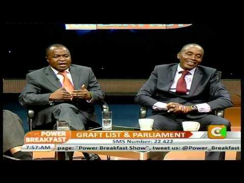 Power Breakfast Interview:Graft List and Parliament