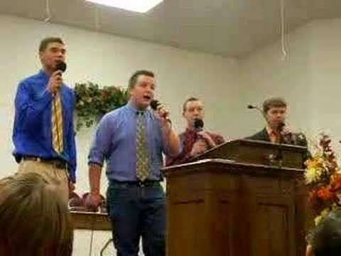 Sons of Faith singing Forwarding Address