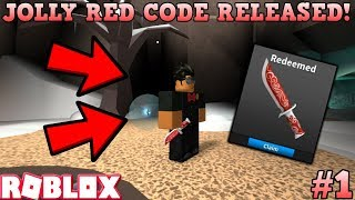 JOLLY RED CODE HAS BEEN RELEASED! (ROBLOX ASSASSIN JOLLY BLADE CODES) *LIMITED #1*