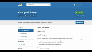 Cloudy SQL: Execute Raw SQL Queries in Snowflake from a Jupyter Notebook - Hashmap Megabytes  Ep 12