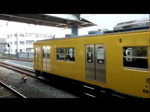西武国分寺線2000系 東村山駅到着 Seibu Kokubunji Line