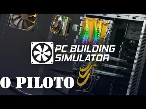 Piloto - Testando PC Building Simulator Republic of Gamers Workshop |