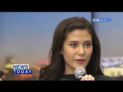 Miss Thailand Universe 2017 returns from placing in top 5 at global beauty pageant
