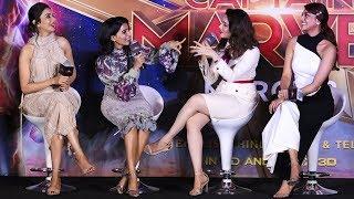 Gambar cover Vijay or Ajith...? Samantha, Tamannaah, Kajal Agarwal & Rakul Preet Conversation   Captain Marvel