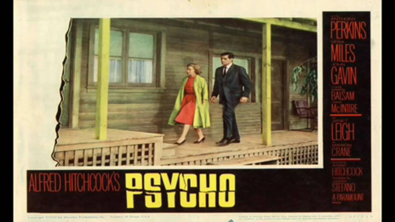 hitchcocks psycho soundtrack youtube