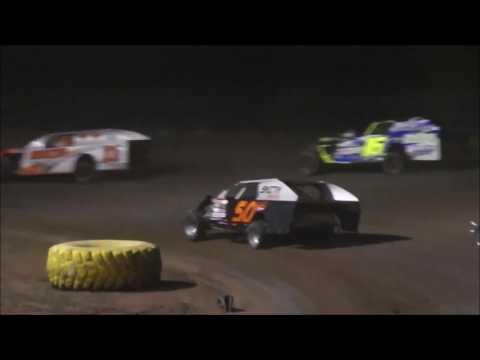 "Salina Speedway SalinaUsedCars IMCA Modifieds ""heat 2 & A Feature"" 7-28-17"