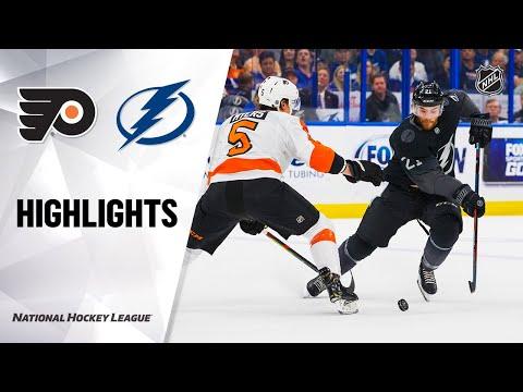 NHL Highlights | Flyers @ Lightning 02/15/20