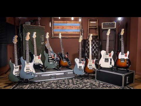 Fender American Professional Series Strat and Tele   Chicago Music Exchange Guitar Demo