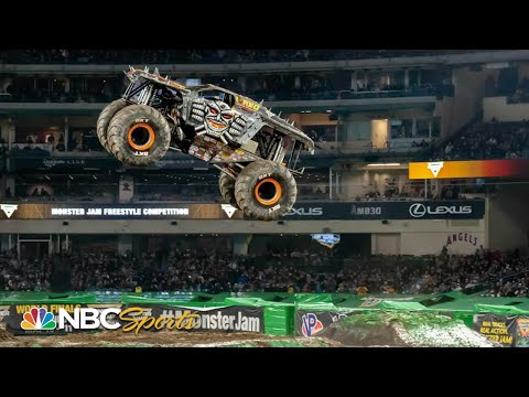 Monster Jam 2019: Anaheim, CA | EXTENDED HIGHLIGHTS | Motorsports on NBC