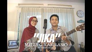 Download JIKA - MELLY GOESLAW FT.ARI LASSO ( ALDHI COVER FT. FEBY PUTRI )   FULL VERSION