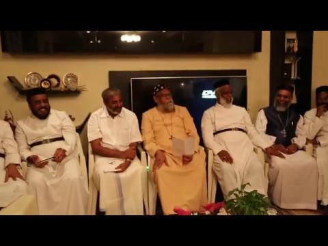 Priest Trustee & Sabha Secretary-Visit to St.Gregorious Indian Orthodox Maha Edavaka,Kuwait
