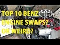 Top 10 Mercedes-Benz 190E WEIRD Engine Swaps?