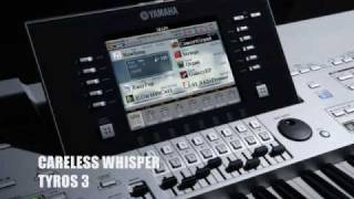 YAMAHA TYROS 3 CARELESS WHISPER (IMPROVISATION)
