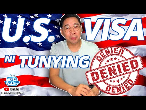 US Visa Ni Tunying, Denied!