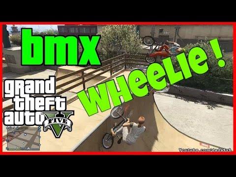 How To Do A Wheelie On A Bmx Gta 5 Youtube