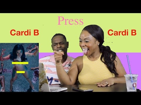Cardi B Press Official Music Video Reaction Youtube