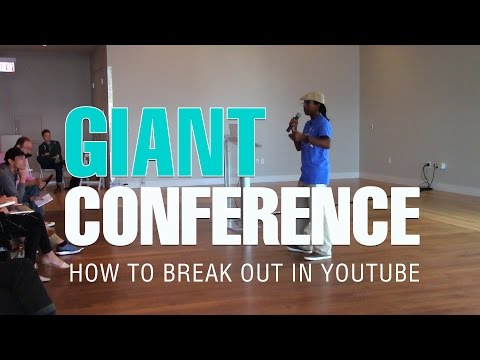 How to Break Out in YouTube and Get Discovered | Giant Conference 2016 Speaker Roberto Blake