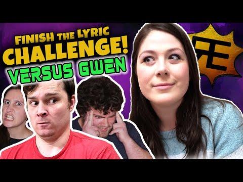 Finish The Lyric Challenge: VERSUS GWEN!