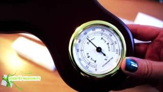 Часы с гигрометром, термометром и барометром - Brigant