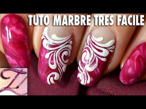 Tuto nail art ongles marbr s tr s facile et effet sucre - Abonnement art et decoration ...
