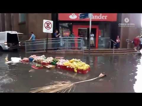 Alagamentos e destruição: o resultado do temporal em Porto Alegre