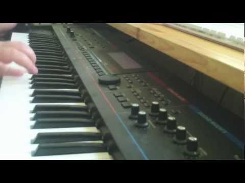 Synthesizer Solo (Electro-Funk Style)