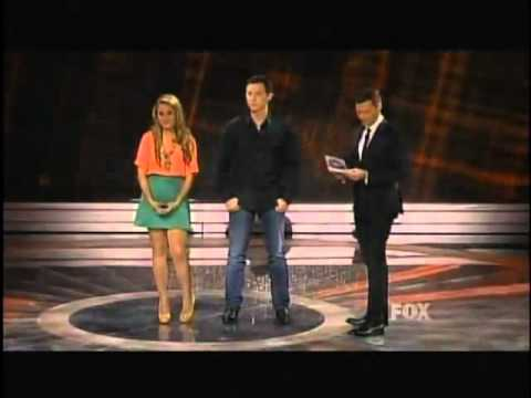 American Idol 2011 Top 7 Results Show - Bottom 3 - Jacob Lusk & Stefano Langone - 04/21/11