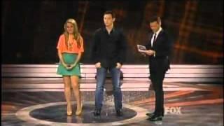 American Idol 2011 Top 7 Results Show - Bottom 3 - Jacob Lusk & Stefano Langone - 04/21/11