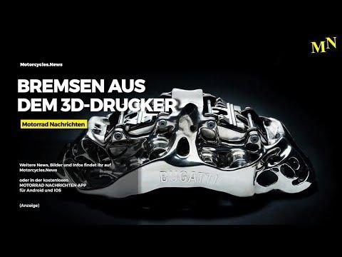 TitanBremsen aus dem 3D Drucker | Motorrad Nachrichten