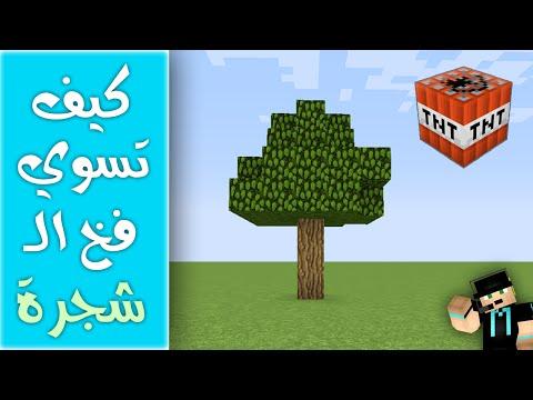 كيف تسوي فخ الشجرة على صديقك في ماين كرافت