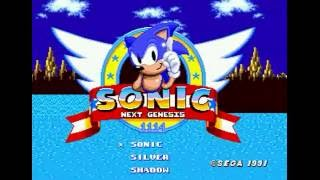 Sonic Next Genesis (Genesis) - Walkthrough