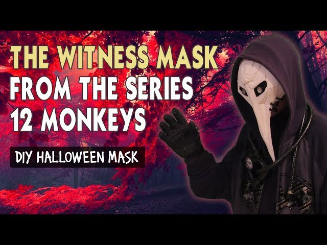 How to make THE WITNESS MASK FROM THE